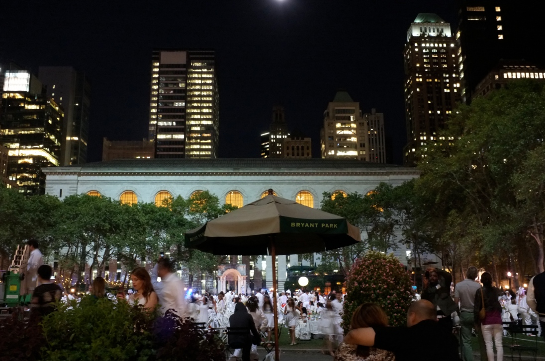 White Party at Bryant Park