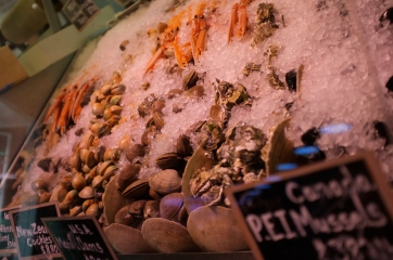 Seafood at Eataly