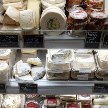 Cheese at Eataly